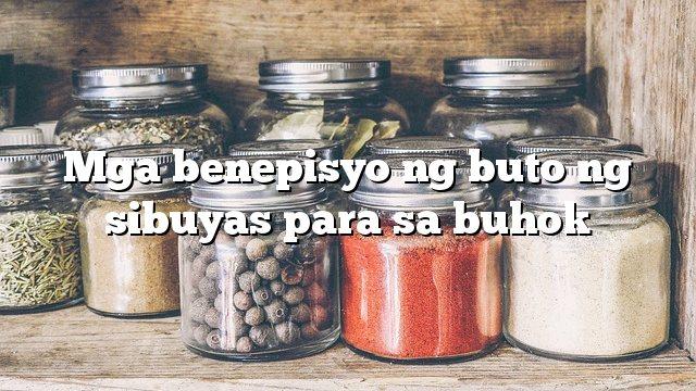 Mga benepisyo ng buto ng sibuyas para sa buhok